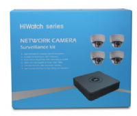 HiWatch 4 Channel CCTV Kit - I104-A/1T